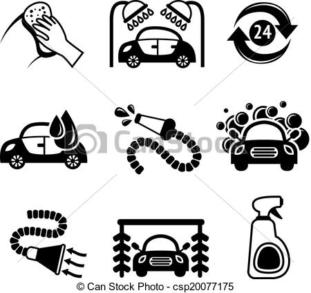 Car Wash Clipart Black And White 2 Clipart Station