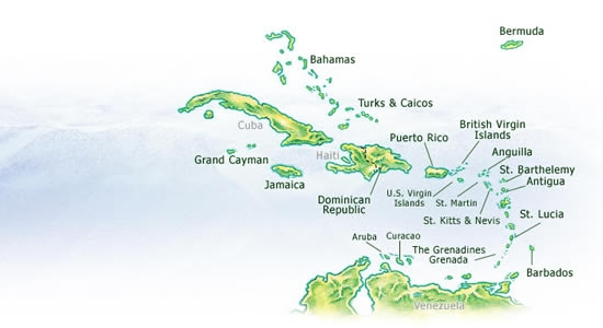 Blank Map Of The Caribbean To Label Blank Caribbean Map blank map of the caribbean to label caribbean