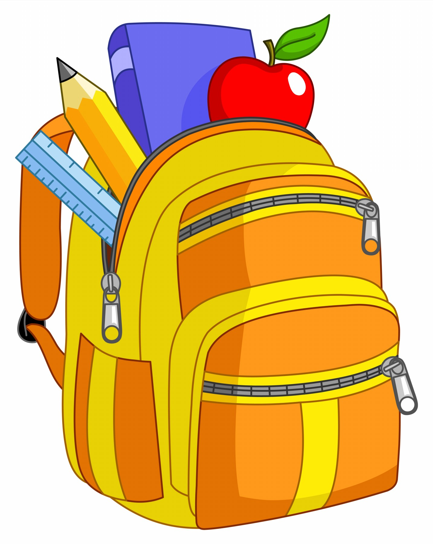 Image result for backpack cartoon