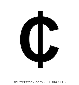 Free Cent Sign Cliparts, Download Free Clip Art, Free Clip ...  White Cent Sign