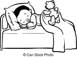 Child sleeping clipart black and white 2 » Clipart Station