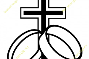 christian marriage clipart