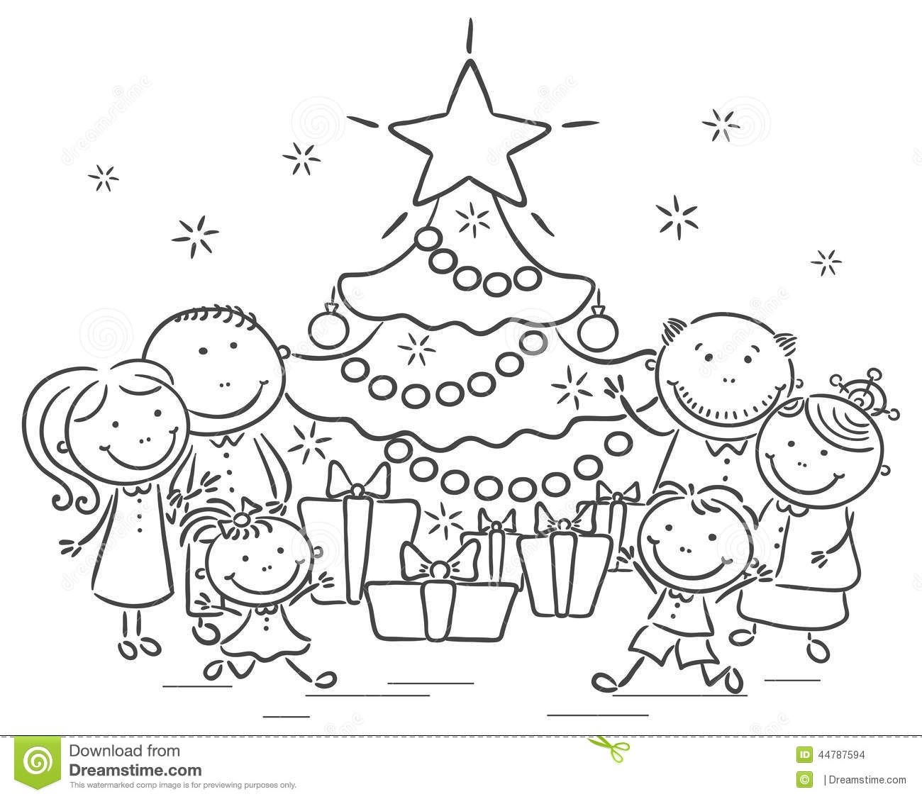 Christmas celebration clipart black and white » Clipart ... (1300 x 1127 Pixel)