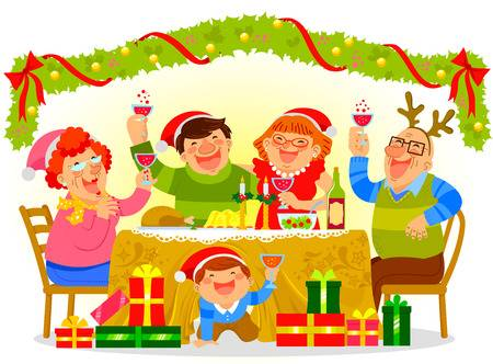 Christmas Dinner Clipart.Christmas Dinner Clipart 1 Clipart Station