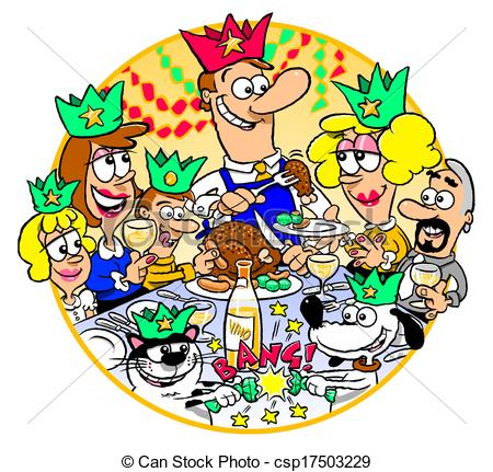 Christmas Dinner Clipart.Christmas Dinner Clipart 4 Clipart Station