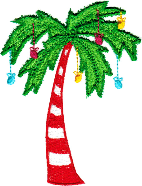 Christmas Palm Tree Clipart 5 Clipart Station