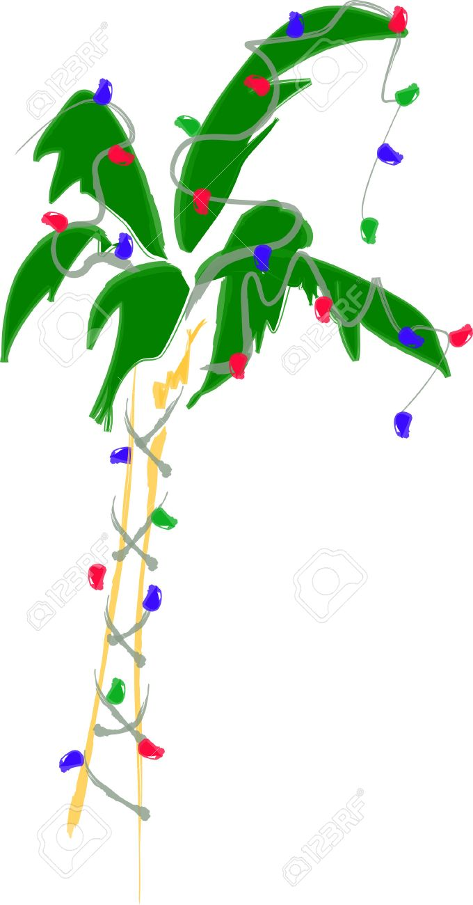 Christmas Palm Tree Clipart 8 Clipart Station