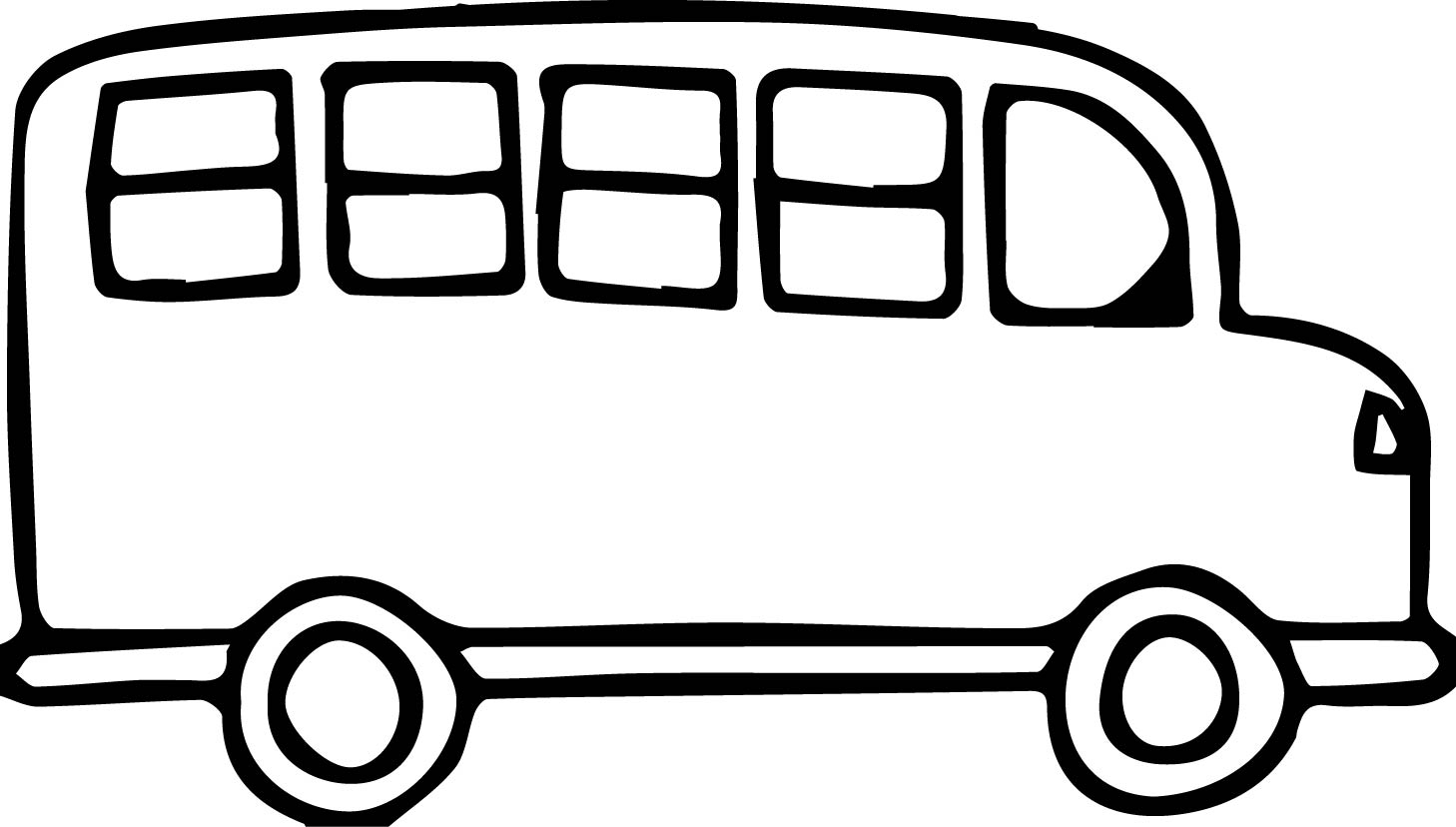 Bus Clipart Black And White Inspirational Van Clipart Black And