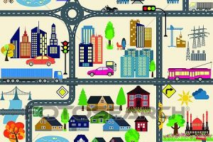 city map clipart 5