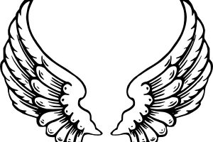 clipart angel wings 1