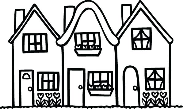 clipart black and white house 3 clipart station rh clipartstation com house clipart black and white png clipart black and white house