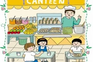 School Canteen Clipart Black And White 4 | Clipart Station intended for School Canteen Clipart Black And White
