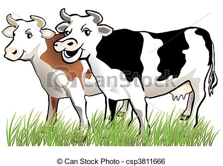 Clipart Cows 2 Clipart Station