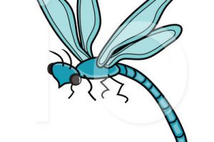 clipart dragonfly