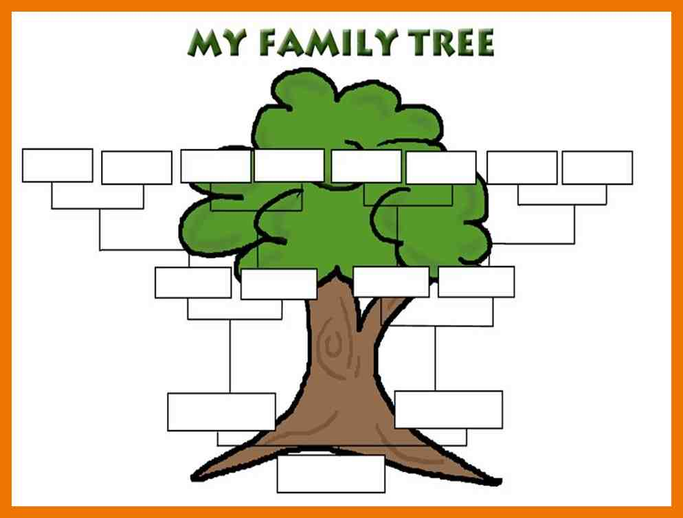 photo relating to Printable Family Tree Maker named Loved ones Tree Template: Loved ones Tree Templates with Relatives Tree