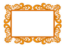 beautiful ornate frame clipart