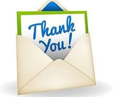 clipart thank you notes 1