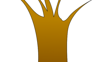 clipart tree trunk 2