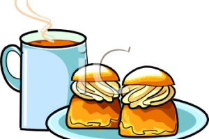 coffee and cake clipart 2