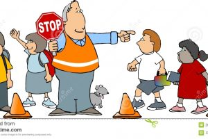 crossing guard clipart 4
