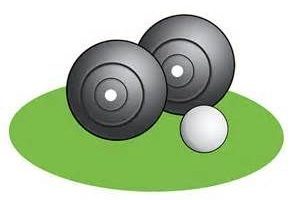 crown green bowling clipart