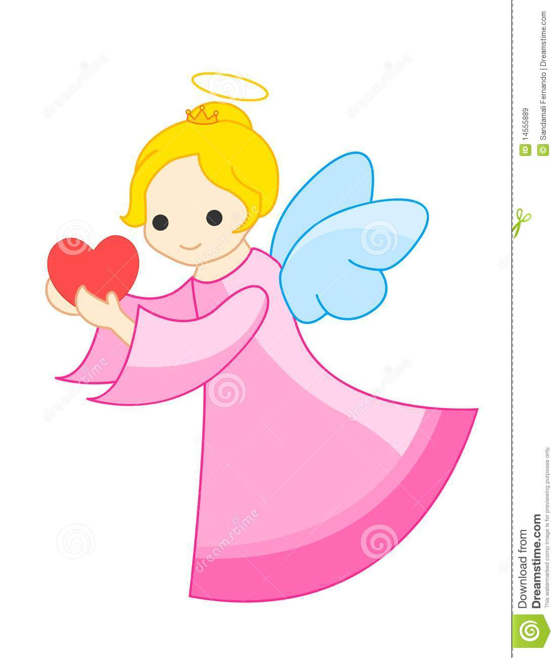 Angel cute. Clipart station