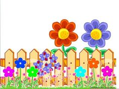cute fence clipart 2