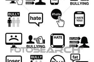 cyberbullying clipart 5