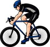 cycling clipart 1