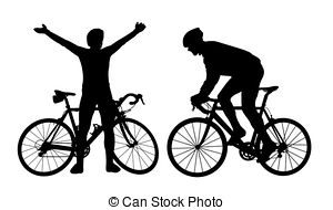cycling clipart 2