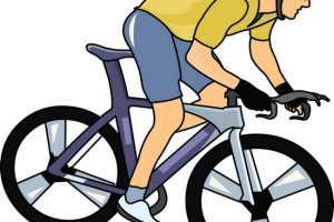 cycling clipart 3