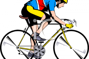 cycling clipart 4