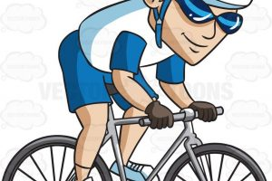 cycling clipart 6