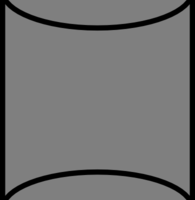 cylinder clipart 1