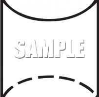 cylinder clipart black and white 4
