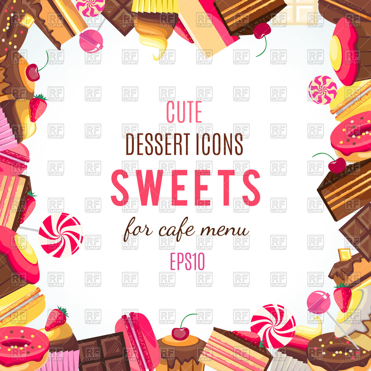 Candy cane Bonbon Gummy bear, candy border, multicolored dessert frame  transparent background PNG clipart   HiClipart