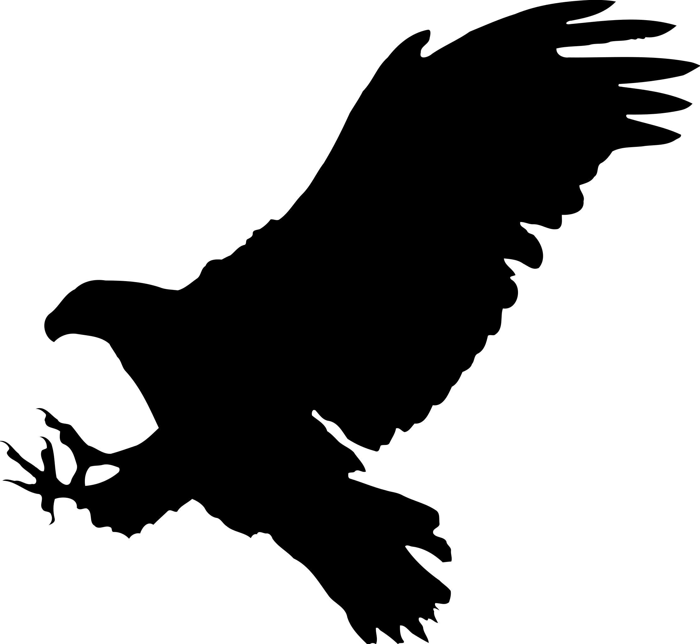 Eagle silhouette PNG Photos.