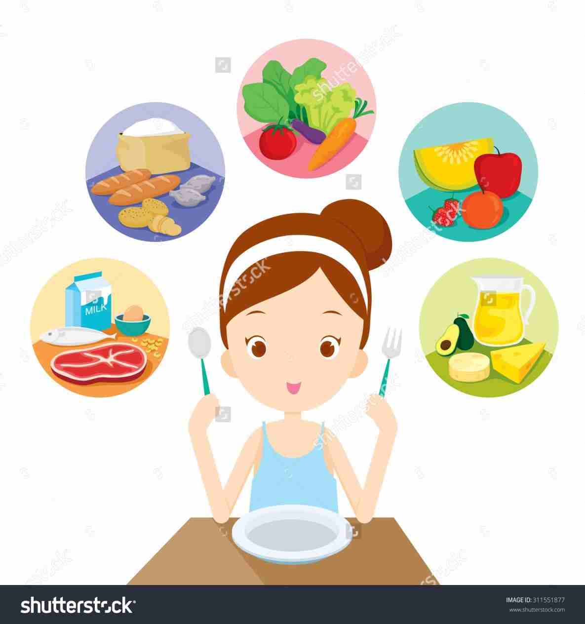 Healthy Healthy Clipart Food