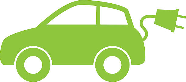 Electric Car Icon Clipart Station