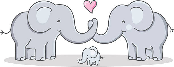 Elephant family Stock Illustration Images. 1,740 Elephant family  illustrations available to search from thousands of royalty free EPS vector clip  art graphics image creators.