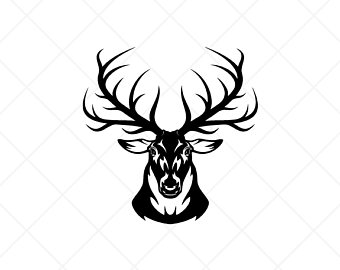 Elk Head Clipart 2 Clipart Station