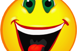 excited face clipart 2