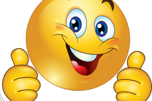 excited face clipart