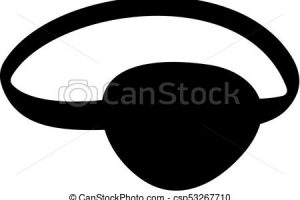 eye patch clipart 1