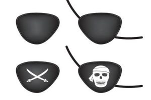 eye patch clipart 6