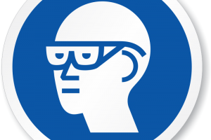 eye protection clipart 3