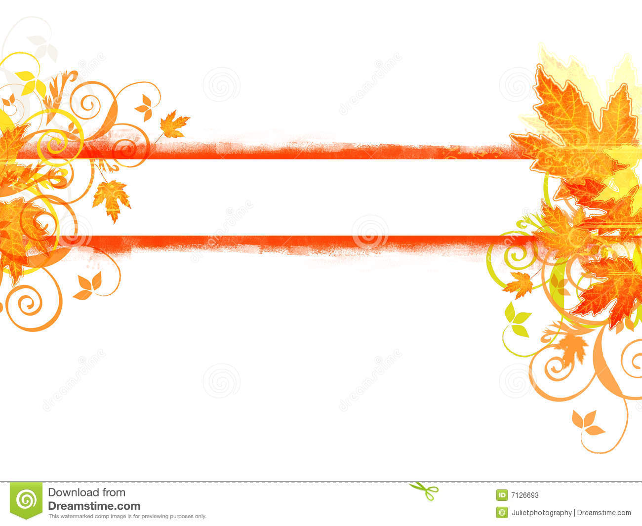 Fall banner clipart 2 » Clipart Station