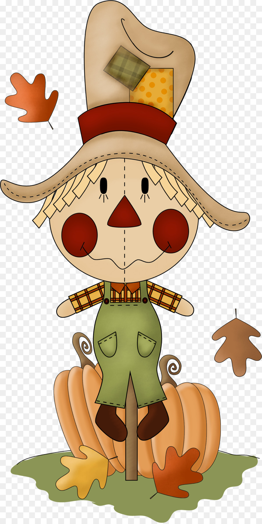 Fall scarecrow. Clipart station