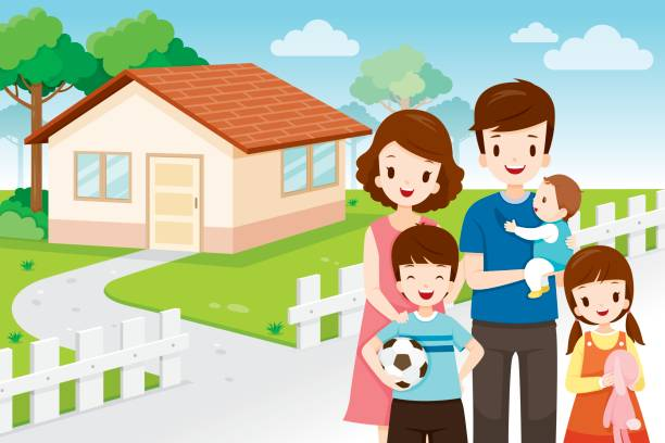 Family House Clipart 3 Clipart Station