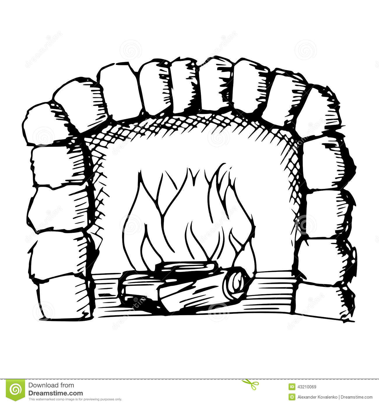 Phenomenal Fireplace Clipart Black And White 1 Clipart Station Home Interior And Landscaping Palasignezvosmurscom